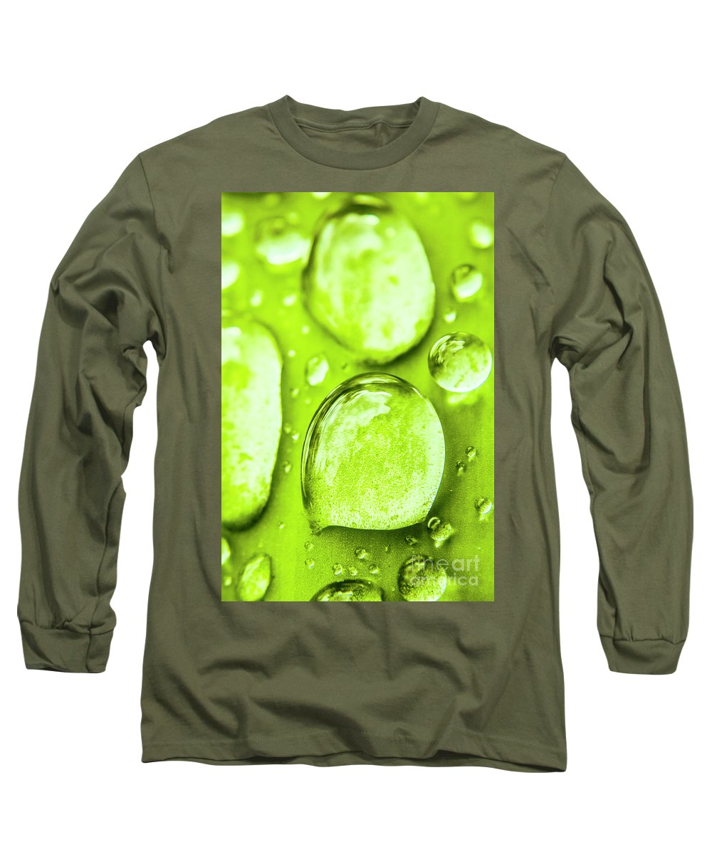 Rain Long Sleeve T-Shirt featuring the photograph In Natural Macro by Jorgo Photography - Wall Art Gallery