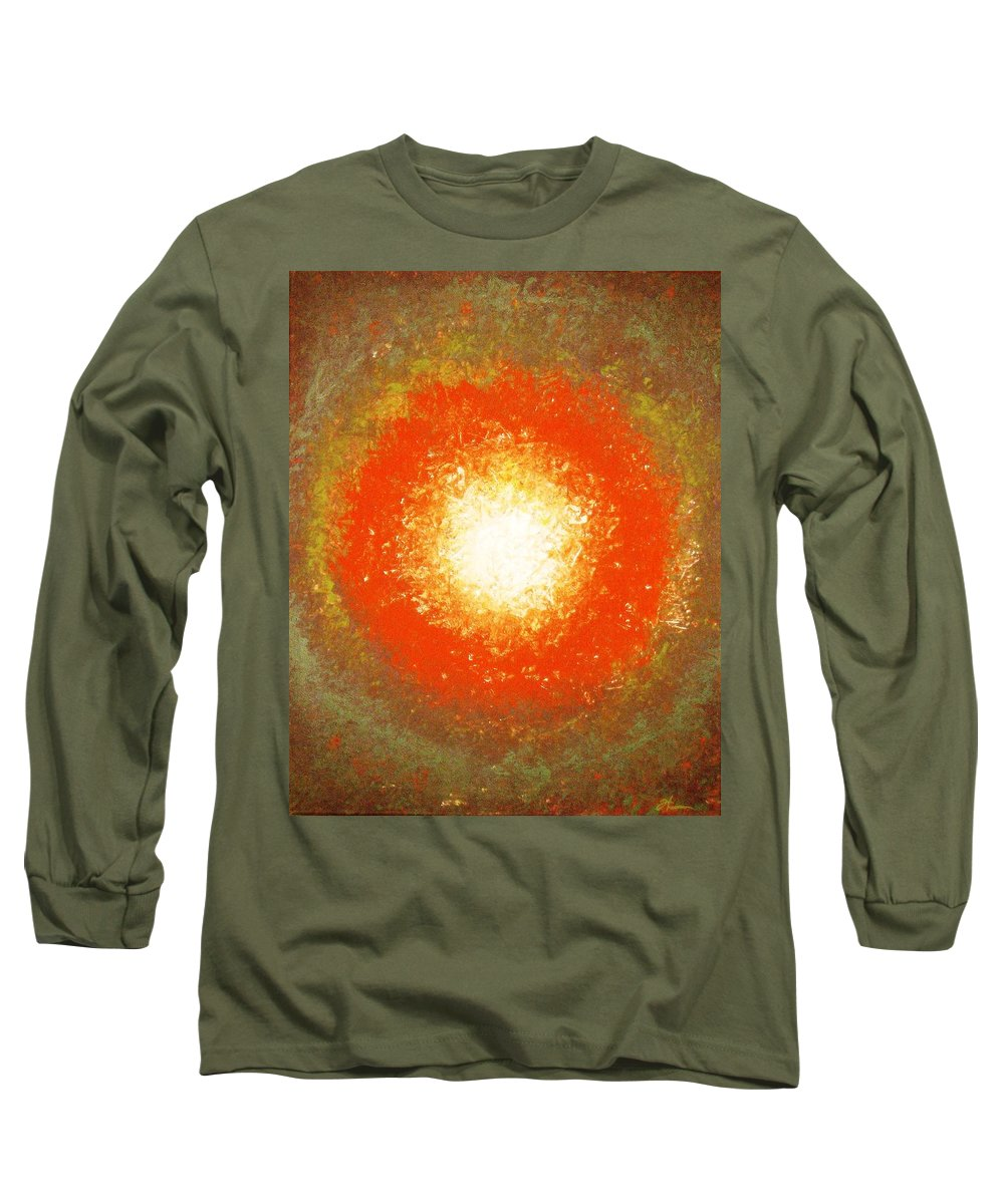 Original Long Sleeve T-Shirt featuring the painting Inception by Todd Hoover