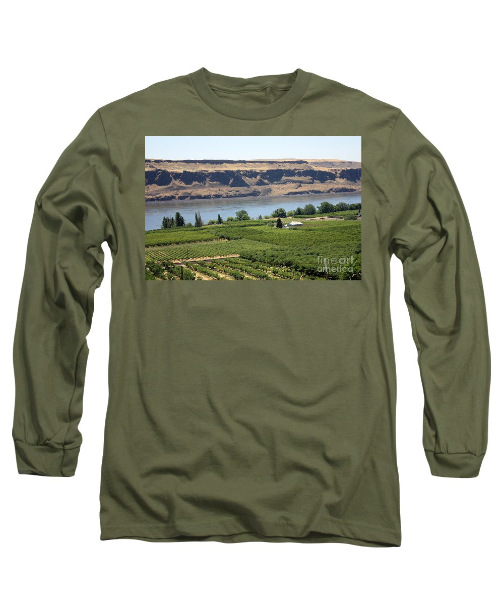 Columbia River Gorge Long Sleeve T-Shirt featuring the photograph Just Add Water... by Carol Groenen