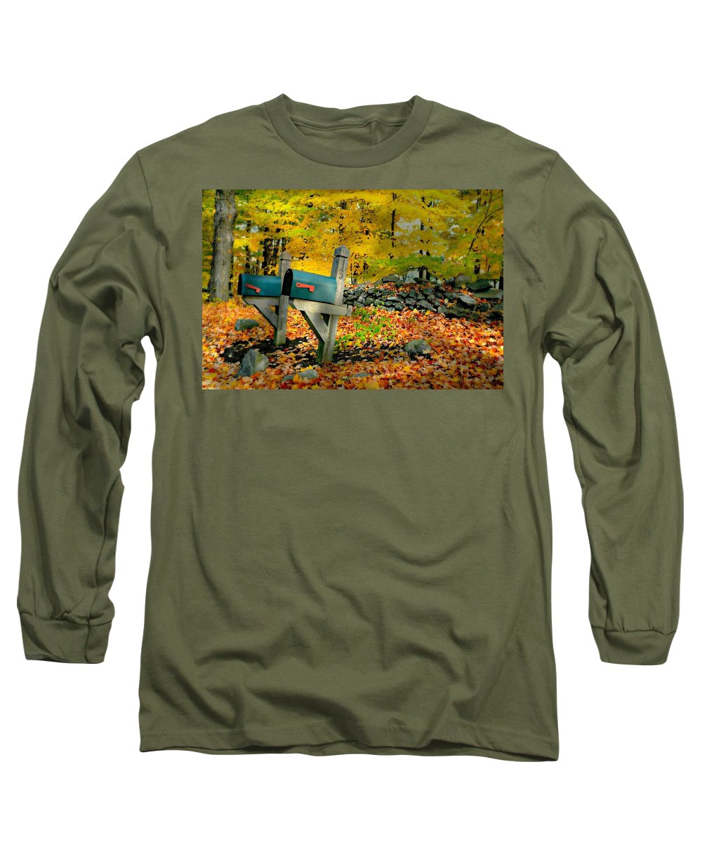 Landscape Long Sleeve T-Shirt featuring the photograph Just Bills by Diana Angstadt