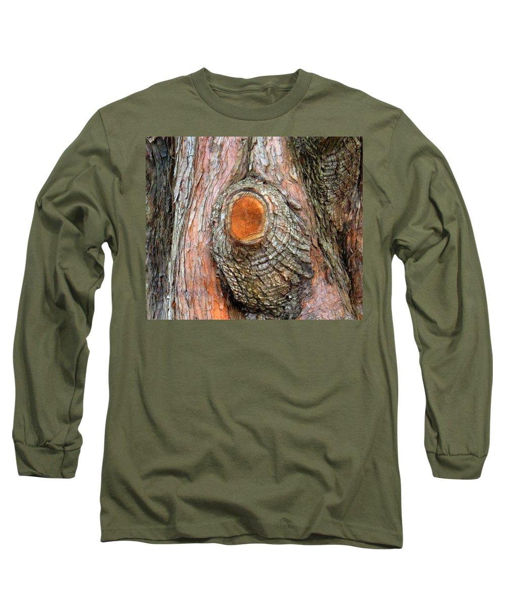 Tree Long Sleeve T-Shirt featuring the photograph Knot by Ian MacDonald