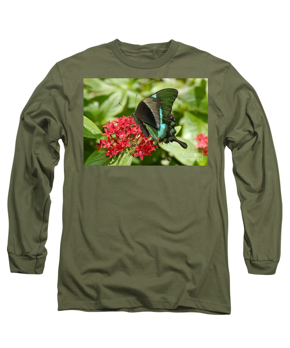 Luminescence Long Sleeve T-Shirt featuring the photograph Luminescence by David Lee Thompson