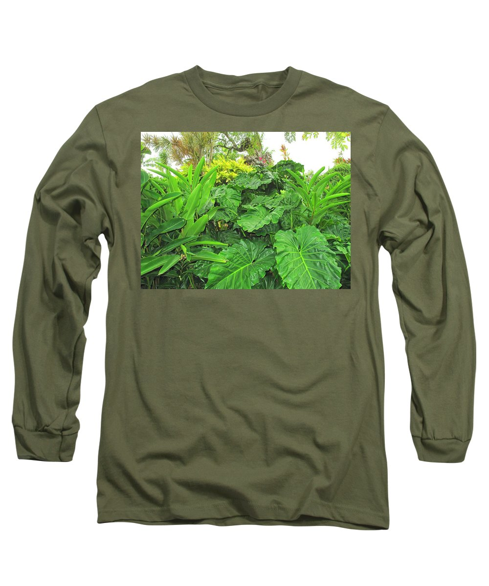 Vegetation Long Sleeve T-Shirt featuring the photograph Lust Too by Ian MacDonald