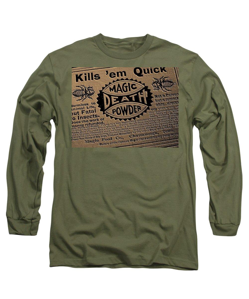 Magic Long Sleeve T-Shirt featuring the photograph Magic Death Powder by Ed Smith