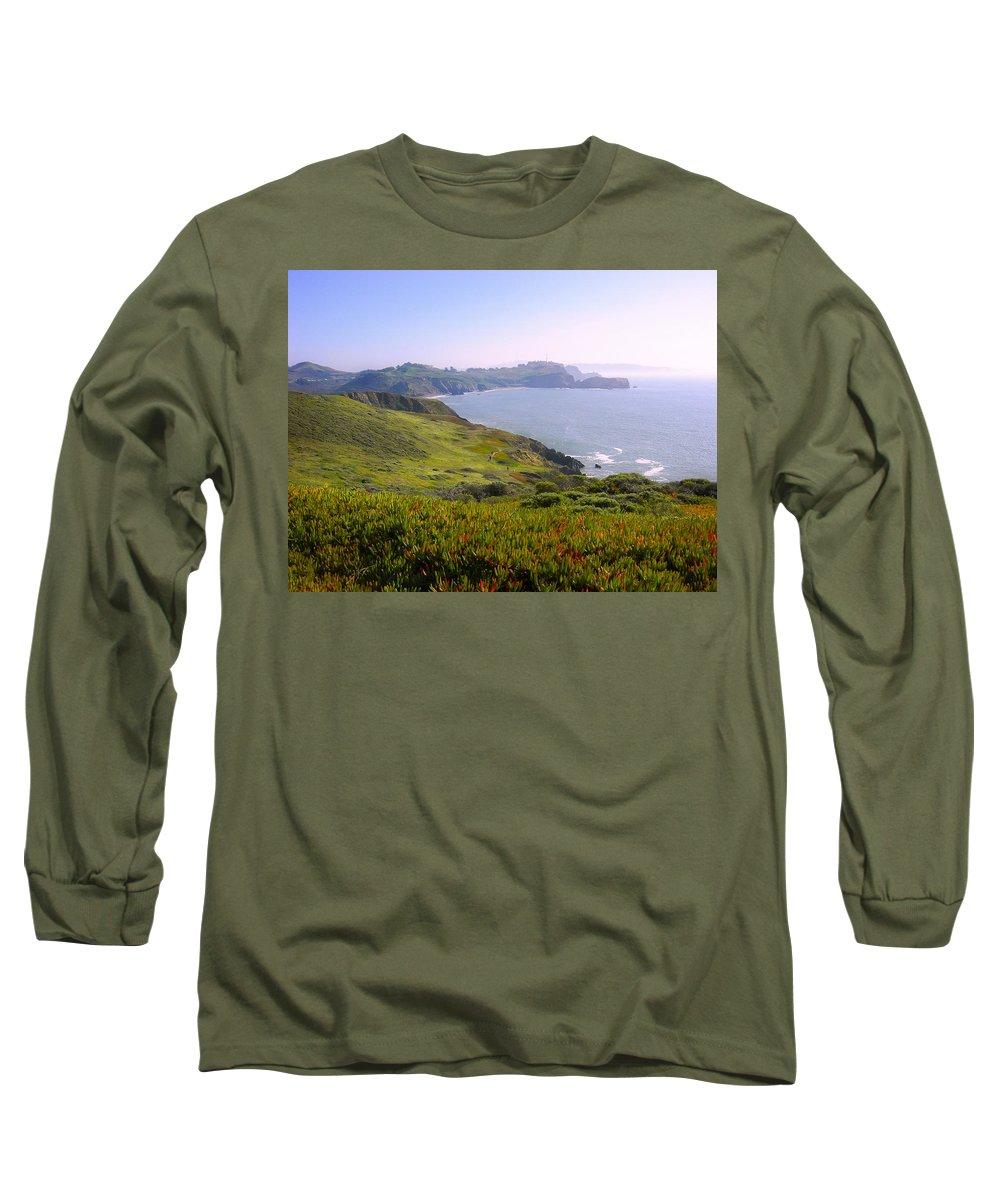 Landscape Long Sleeve T-Shirt featuring the photograph Marin Headlands 2 by Karen W Meyer