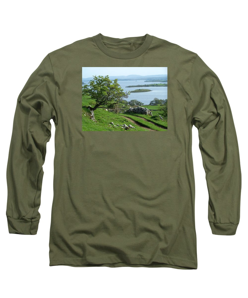 Ireland Long Sleeve T-Shirt featuring the photograph May The Road Rise To Meet You by Teresa Mucha