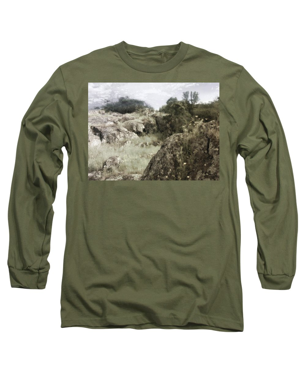 Landscape Long Sleeve T-Shirt featuring the photograph Mountain Lion Country by Karen W Meyer