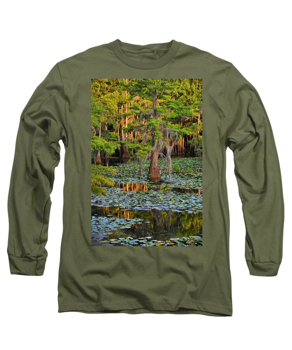 Bog Long Sleeve T-Shirt featuring the photograph Naked by Skip Hunt