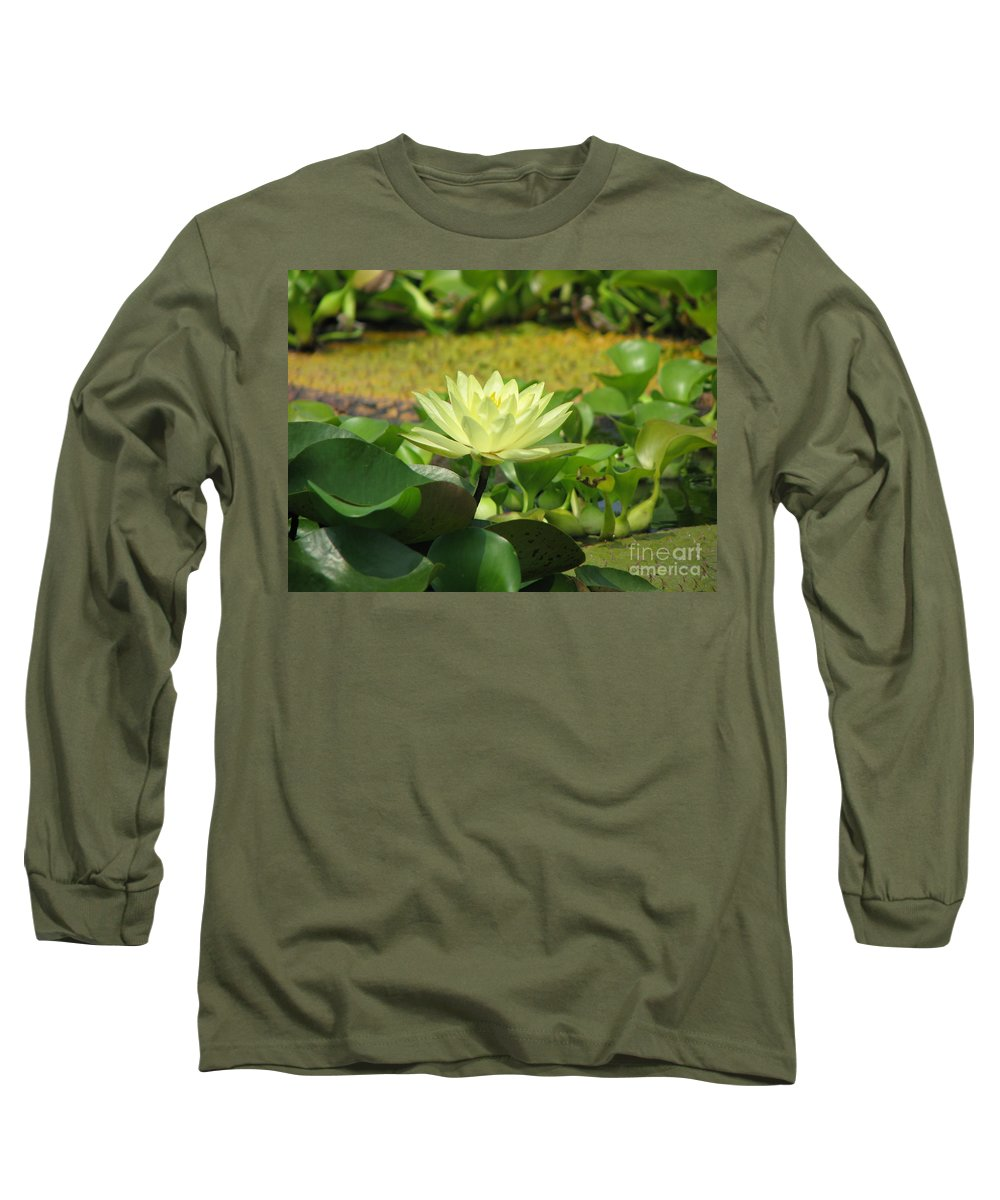 Nature Long Sleeve T-Shirt featuring the photograph Nature by Amanda Barcon