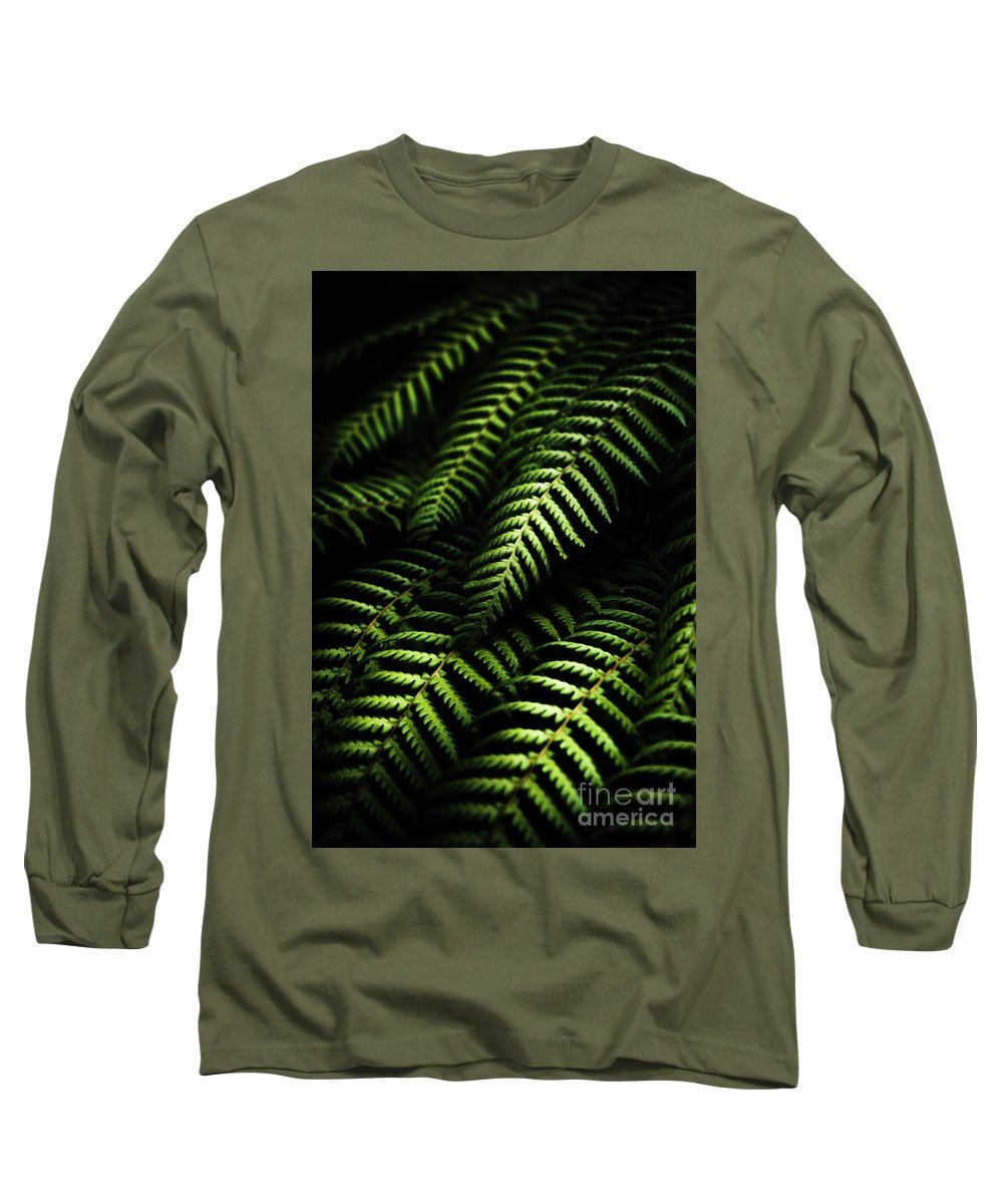 Tropical Long Sleeve T-Shirt featuring the photograph Nature In Minimalism by Jorgo Photography - Wall Art Gallery