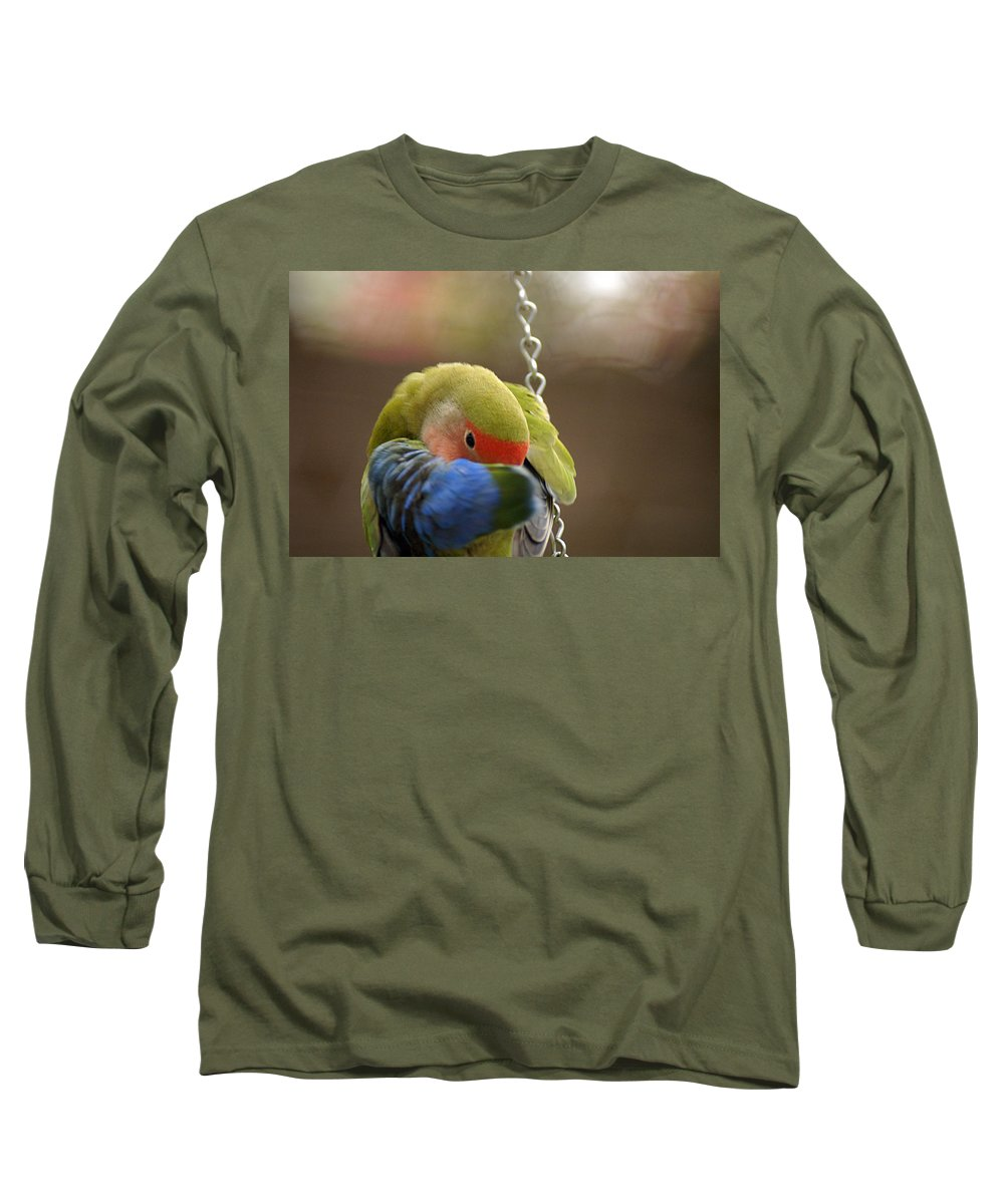 Clay Long Sleeve T-Shirt featuring the photograph Peek A Boo by Clayton Bruster