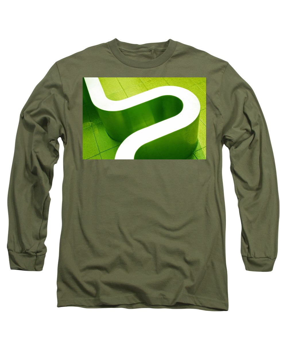 Abstract Long Sleeve T-Shirt featuring the photograph Pharmacia by Skip Hunt