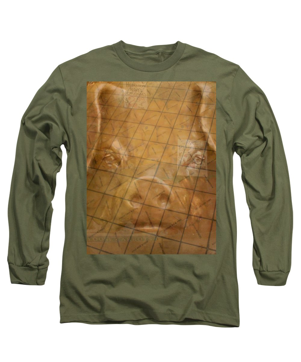 Seattle Long Sleeve T-Shirt featuring the photograph Rachael And The Market Tiles by Tim Allen