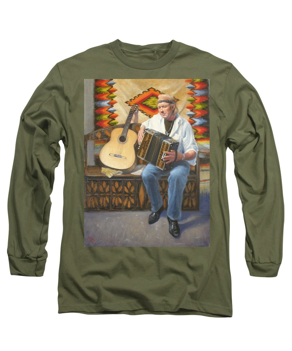Realism Long Sleeve T-Shirt featuring the painting Rainbow Sky by Donelli DiMaria
