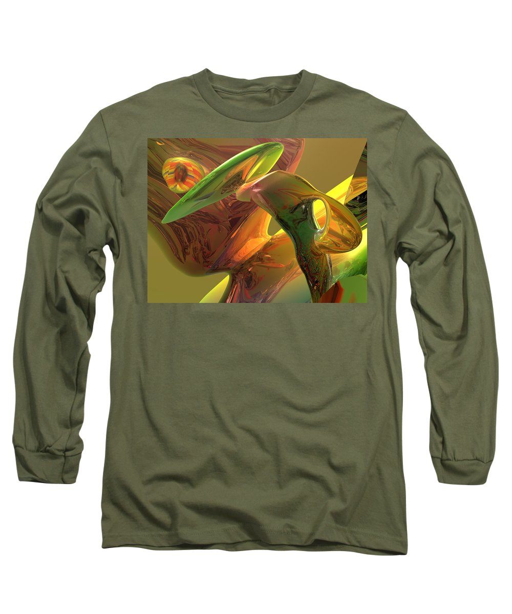 Scott Piers Long Sleeve T-Shirt featuring the painting RBG by Scott Piers