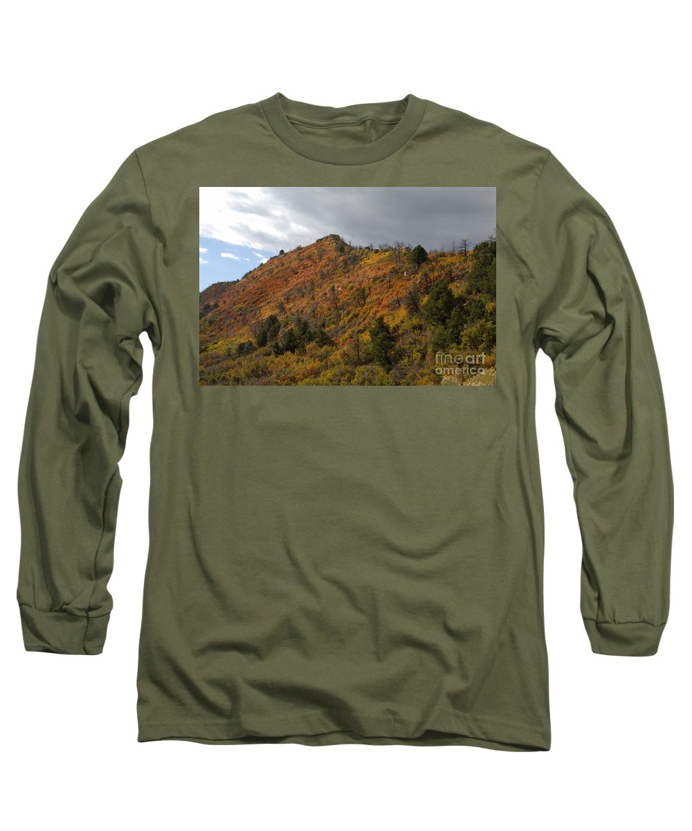 Landscape Long Sleeve T-Shirt featuring the photograph Ridge Line by David Lee Thompson