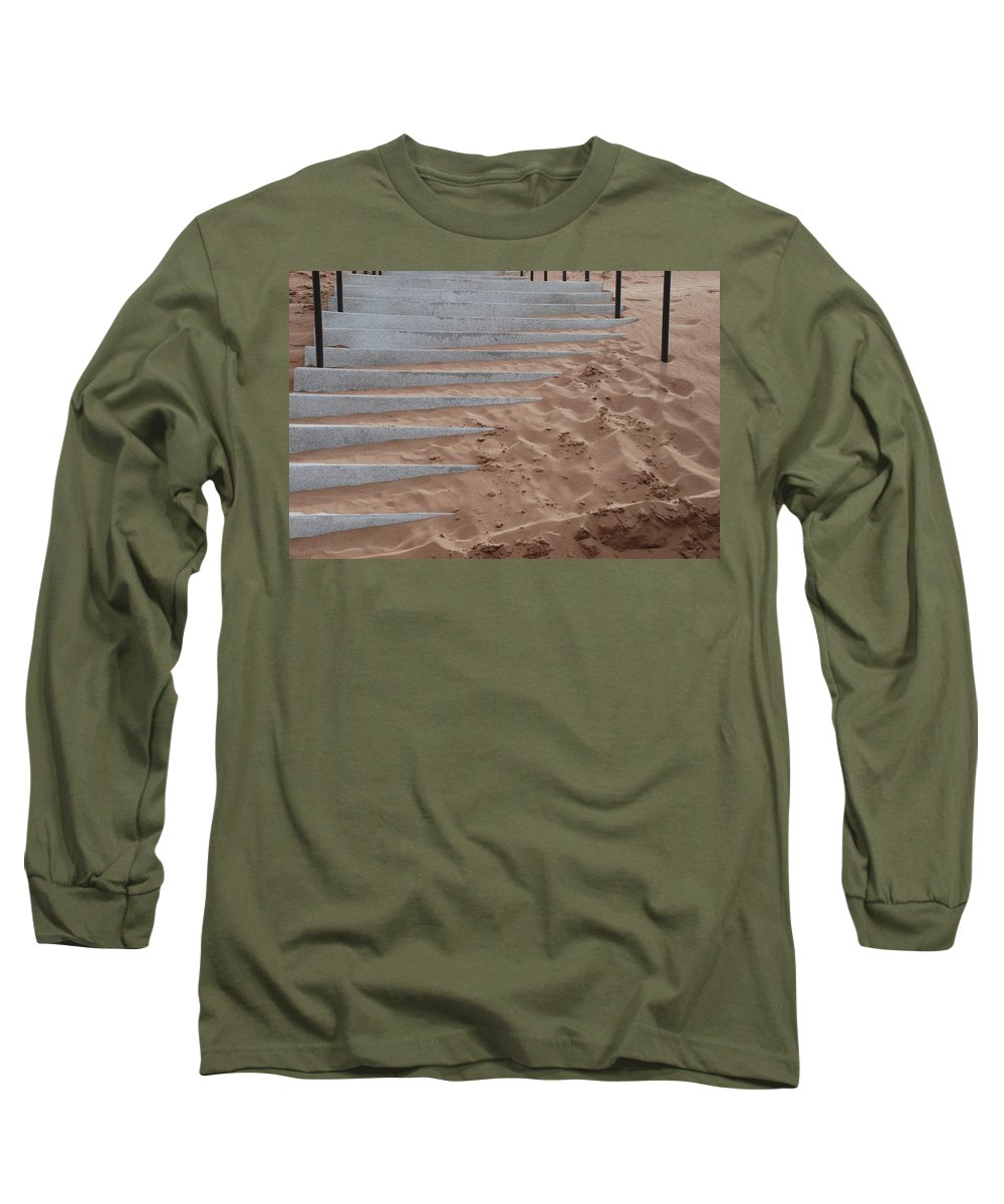 Pop Art Long Sleeve T-Shirt featuring the photograph Sands Of Time by Rob Hans