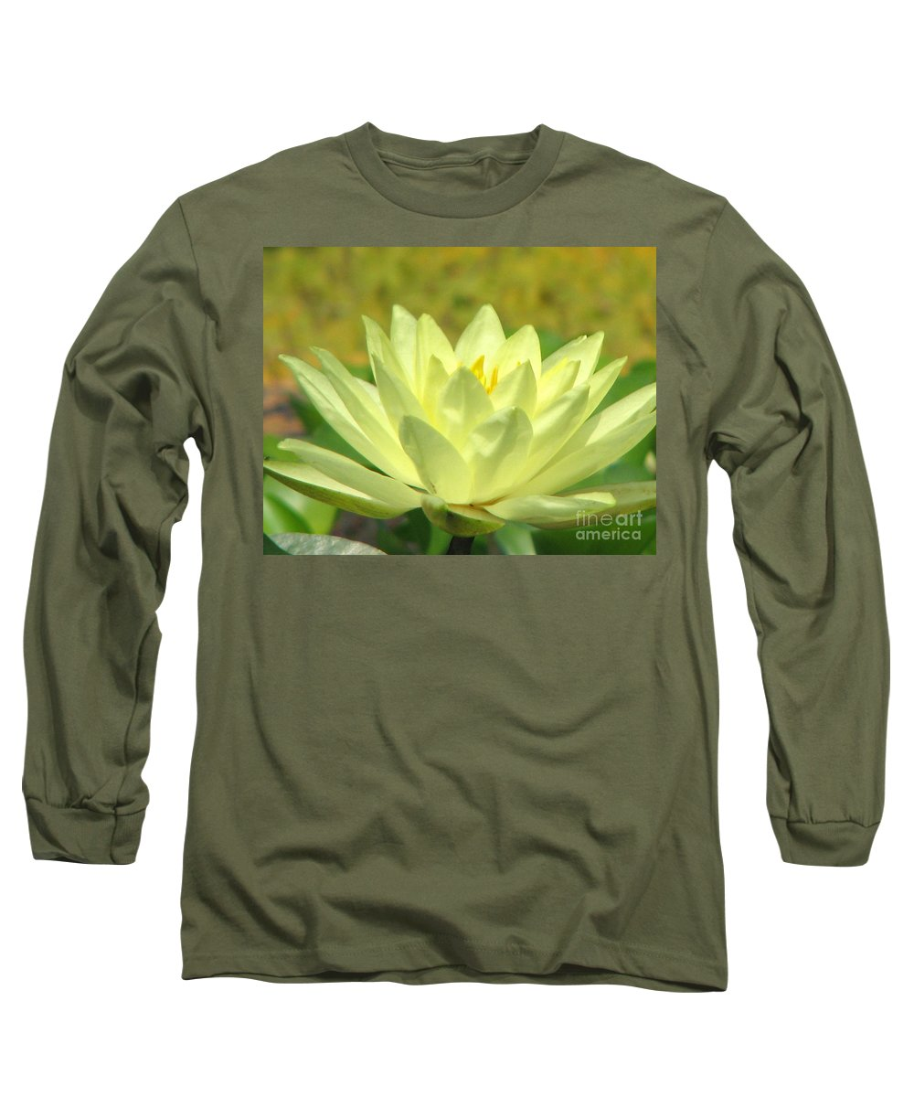 Lillypad Long Sleeve T-Shirt featuring the photograph Shades by Amanda Barcon