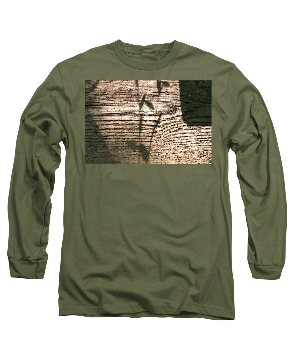 Long Sleeve T-Shirt featuring the photograph Shadow by Clayton Bruster
