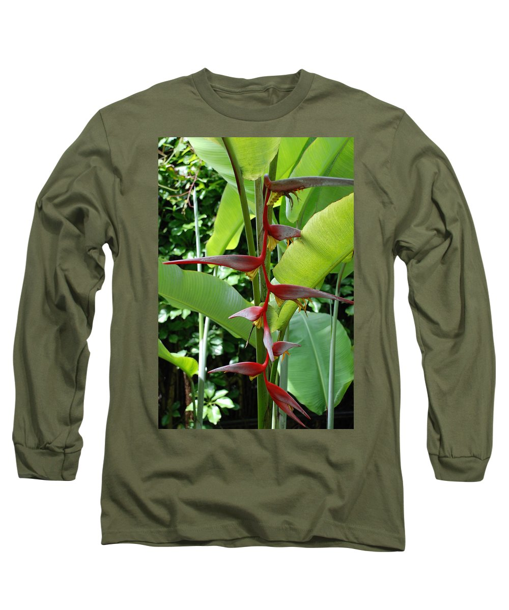 Macro Long Sleeve T-Shirt featuring the photograph Spike Tree by Rob Hans