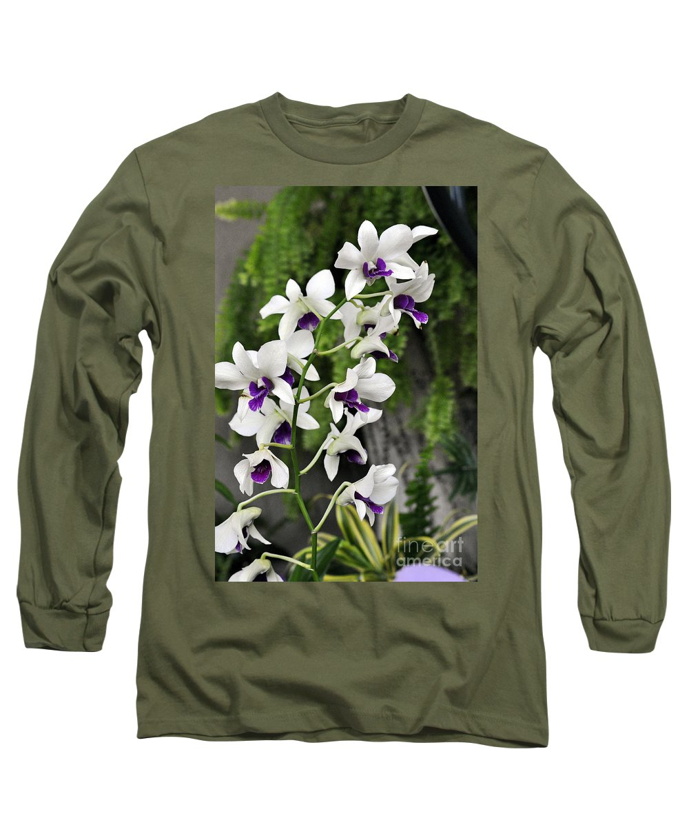 Clay Long Sleeve T-Shirt featuring the photograph Spray by Clayton Bruster