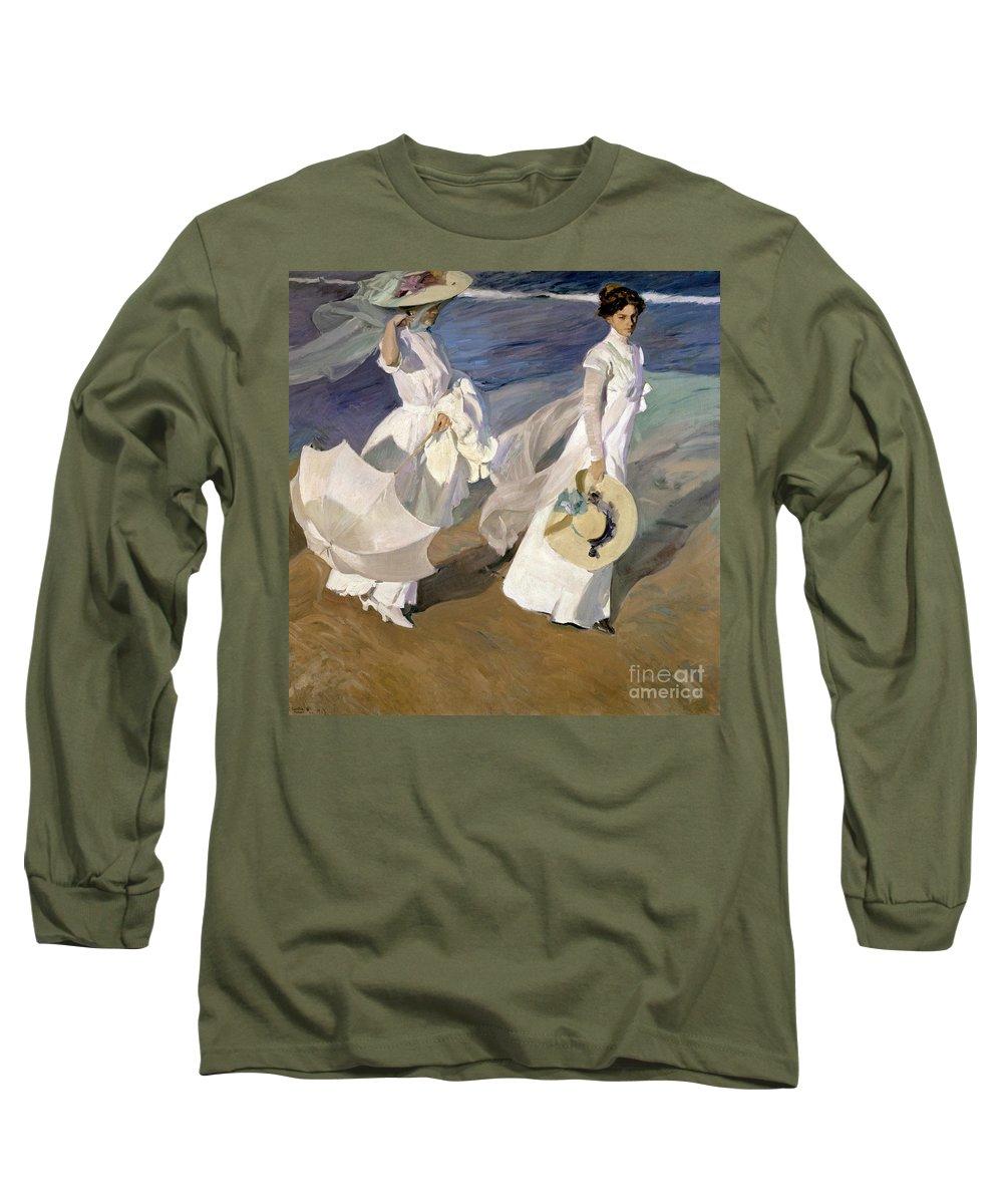 Joaquin Travel Towel: Joaquin Sorolla Long Sleeve T-Shirts
