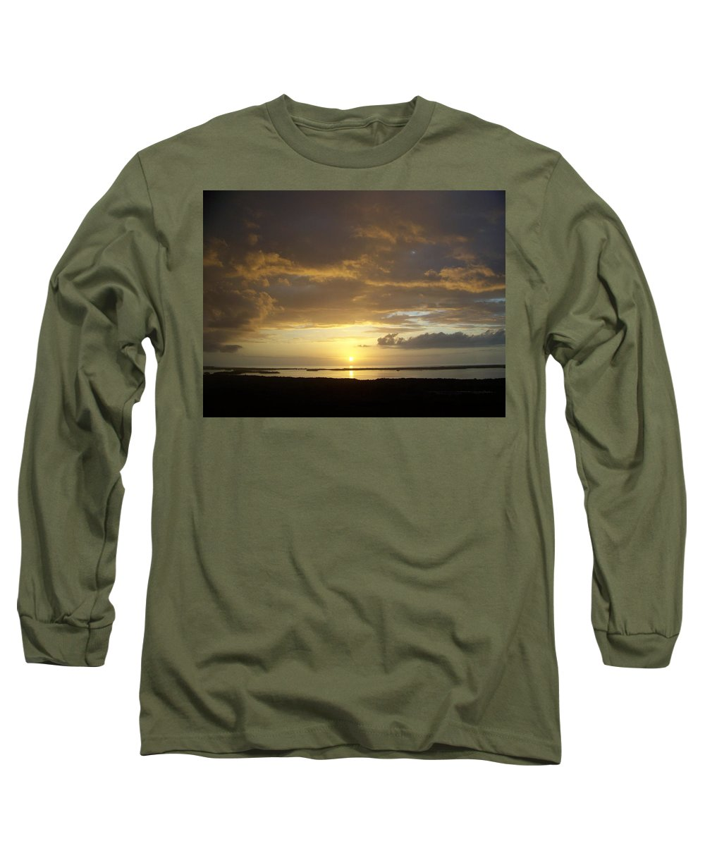 Sunset Long Sleeve T-Shirt featuring the photograph Sunset 0018 by Laurie Paci
