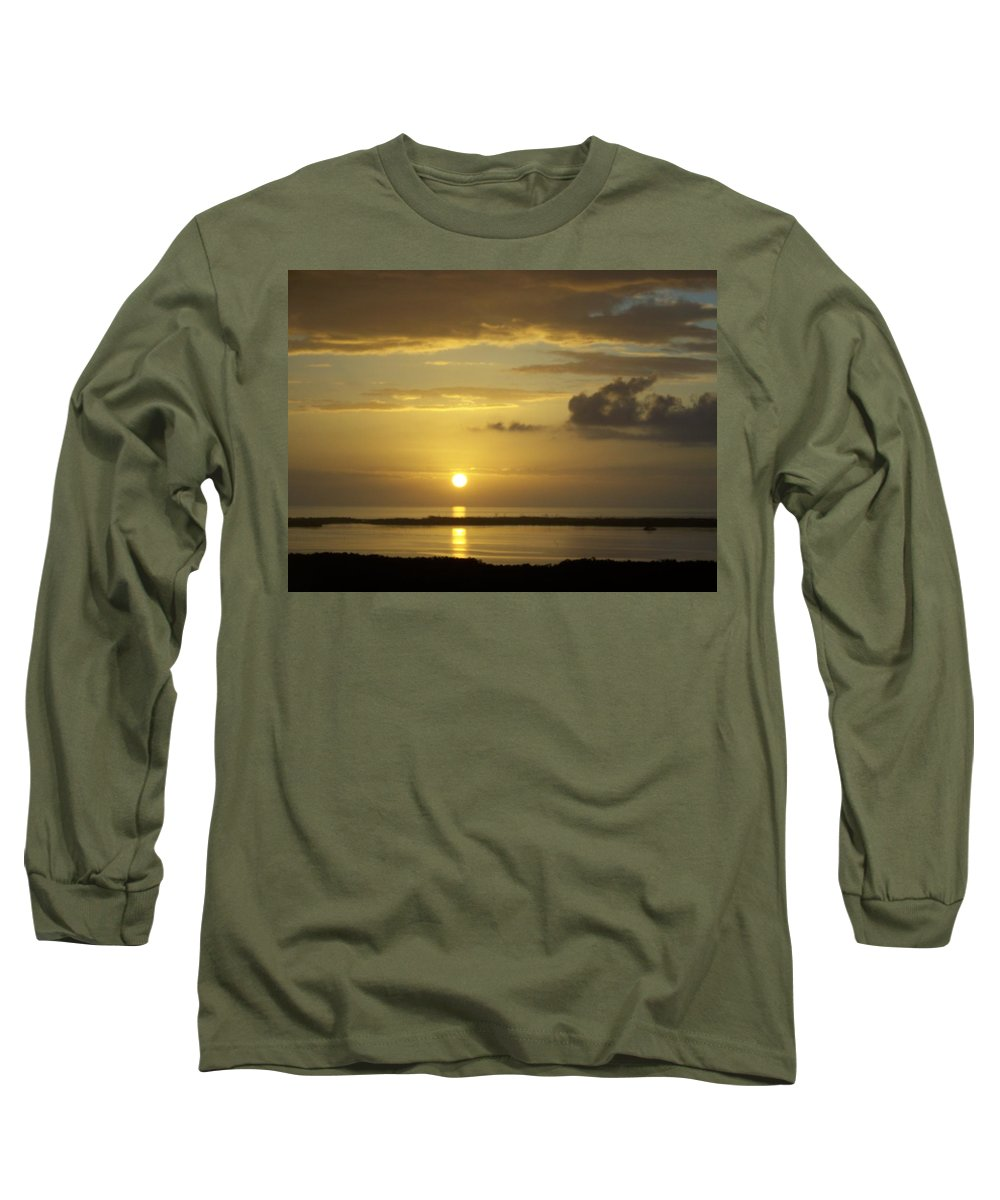 Sunset Long Sleeve T-Shirt featuring the photograph Sunset 0019 by Laurie Paci