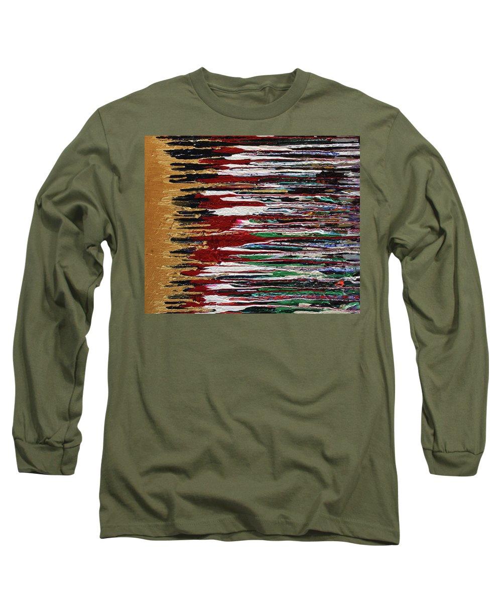 Fusionart Long Sleeve T-Shirt featuring the painting Tears Of The Sun by Ralph White