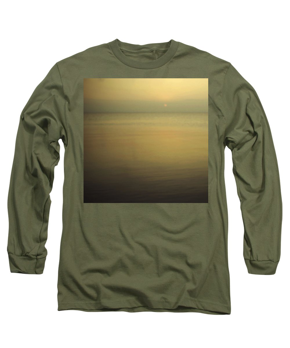 Blur Long Sleeve T-Shirt featuring the photograph Tell Me If You Know All This by Dana DiPasquale