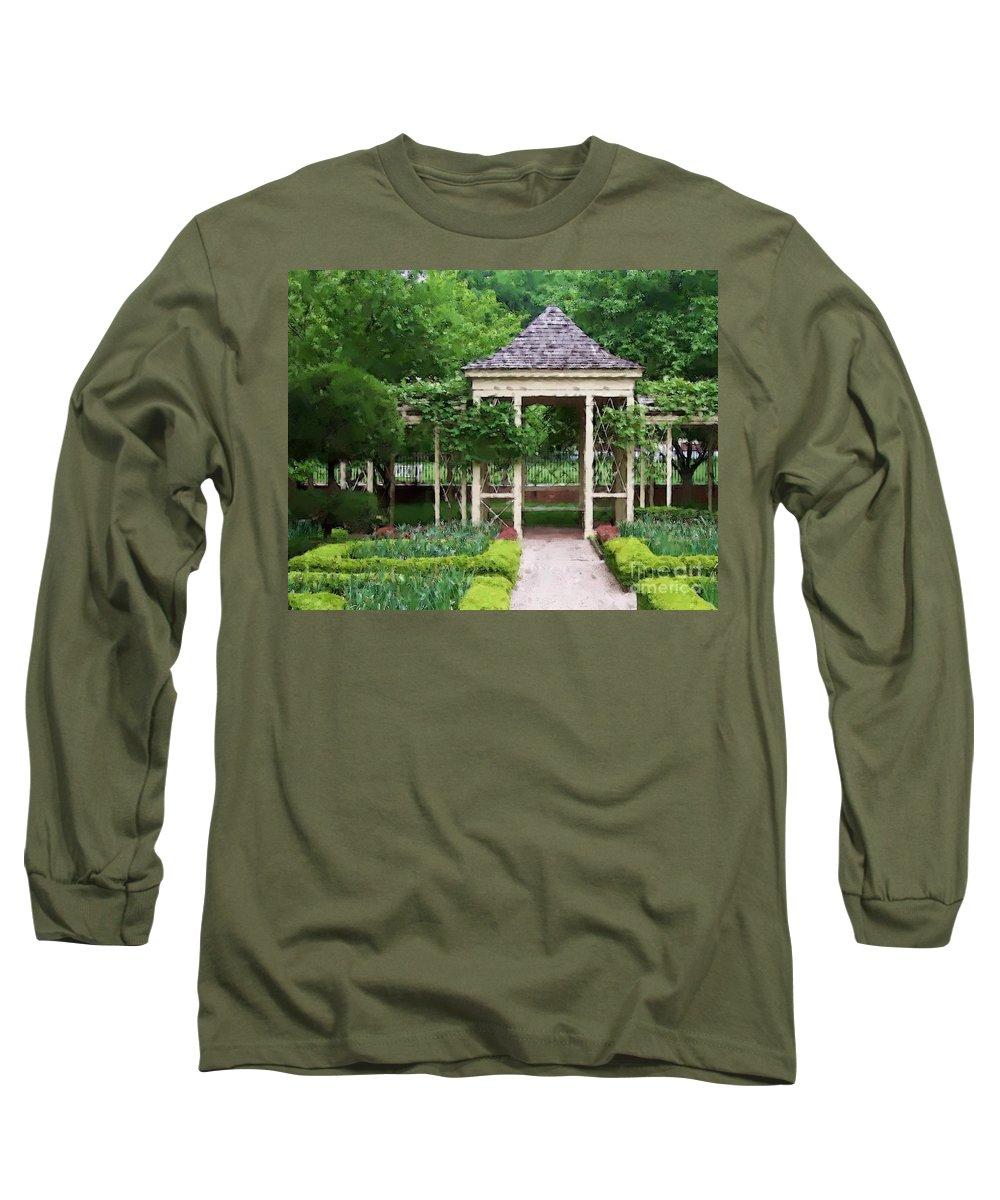 Garden Long Sleeve T-Shirt featuring the photograph Tranquil by Debbi Granruth