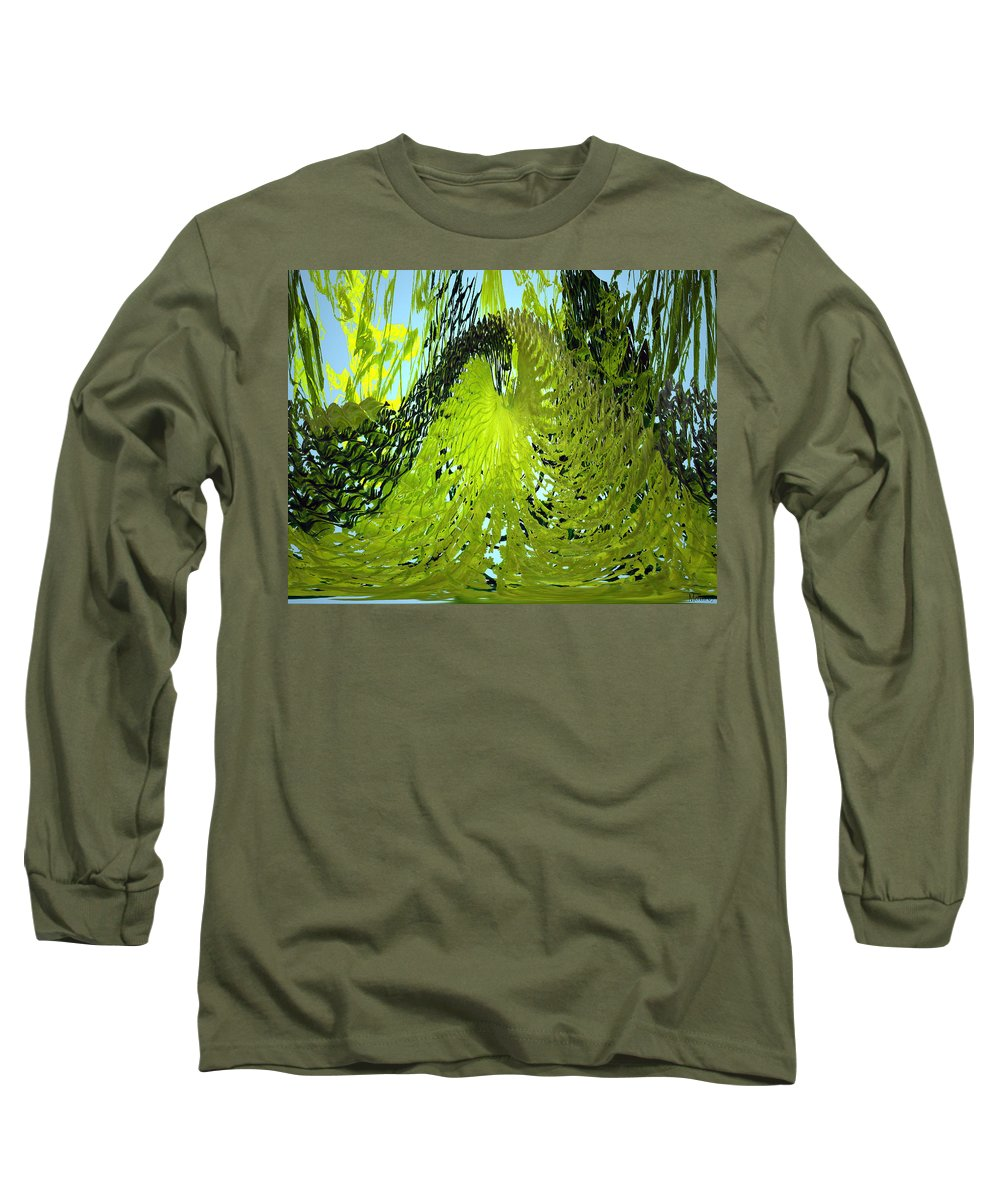 Seaweed Long Sleeve T-Shirt featuring the photograph Under Water by Merja Waters
