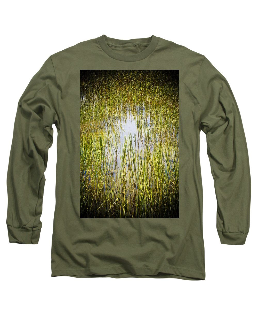 Wetlands Long Sleeve T-Shirt featuring the photograph Wetlands by Marilyn Hunt