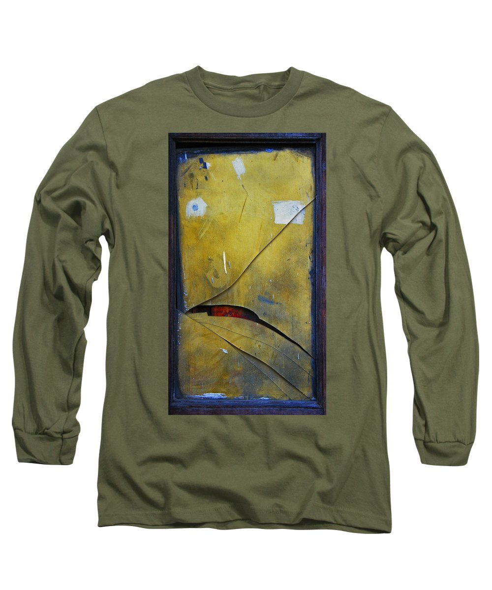 Abstract Long Sleeve T-Shirt featuring the photograph Xalapa Miro by Skip Hunt