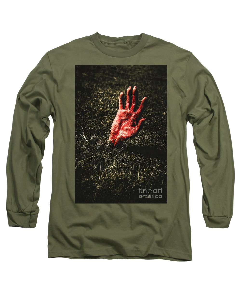 Infection Photographs Long Sleeve T-Shirts