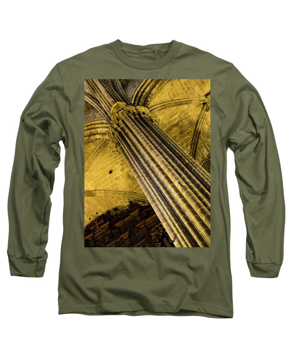 Barcelona Long Sleeve T-Shirt featuring the photograph Tower Of Strength by James Lamb