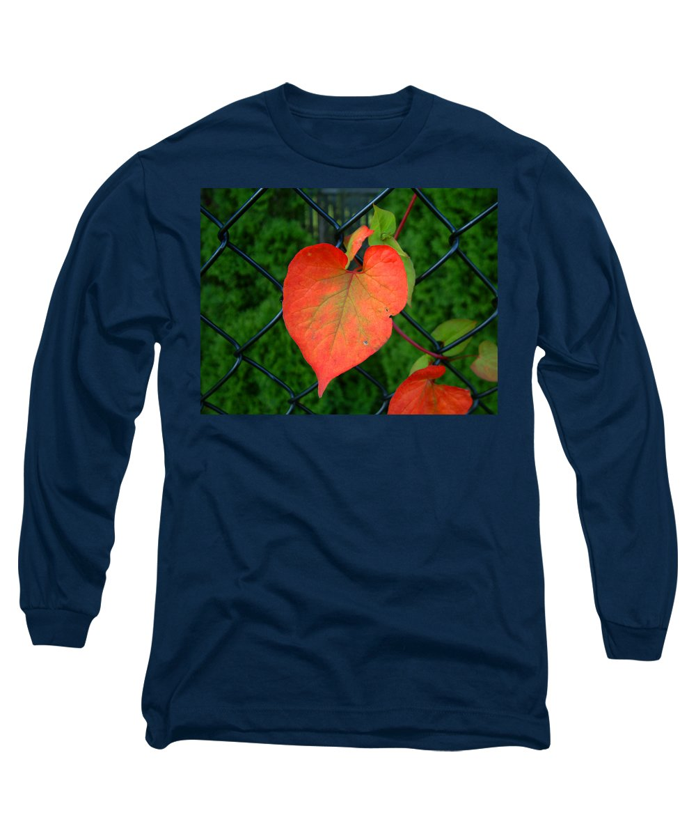 Vine Long Sleeve T-Shirt featuring the photograph Autumn In July by RC DeWinter
