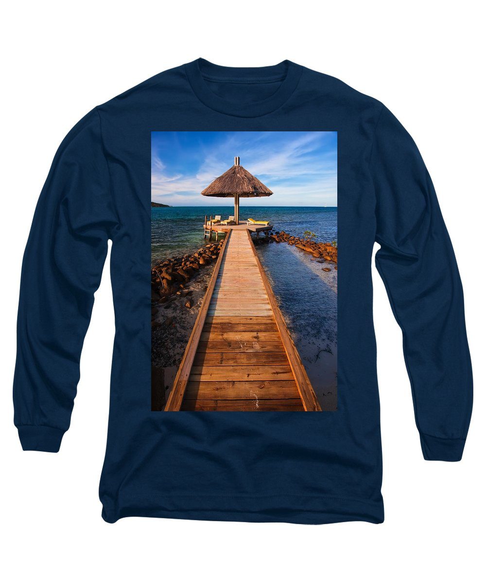3scape Long Sleeve T-Shirt featuring the photograph Perfect Vacation by Adam Romanowicz