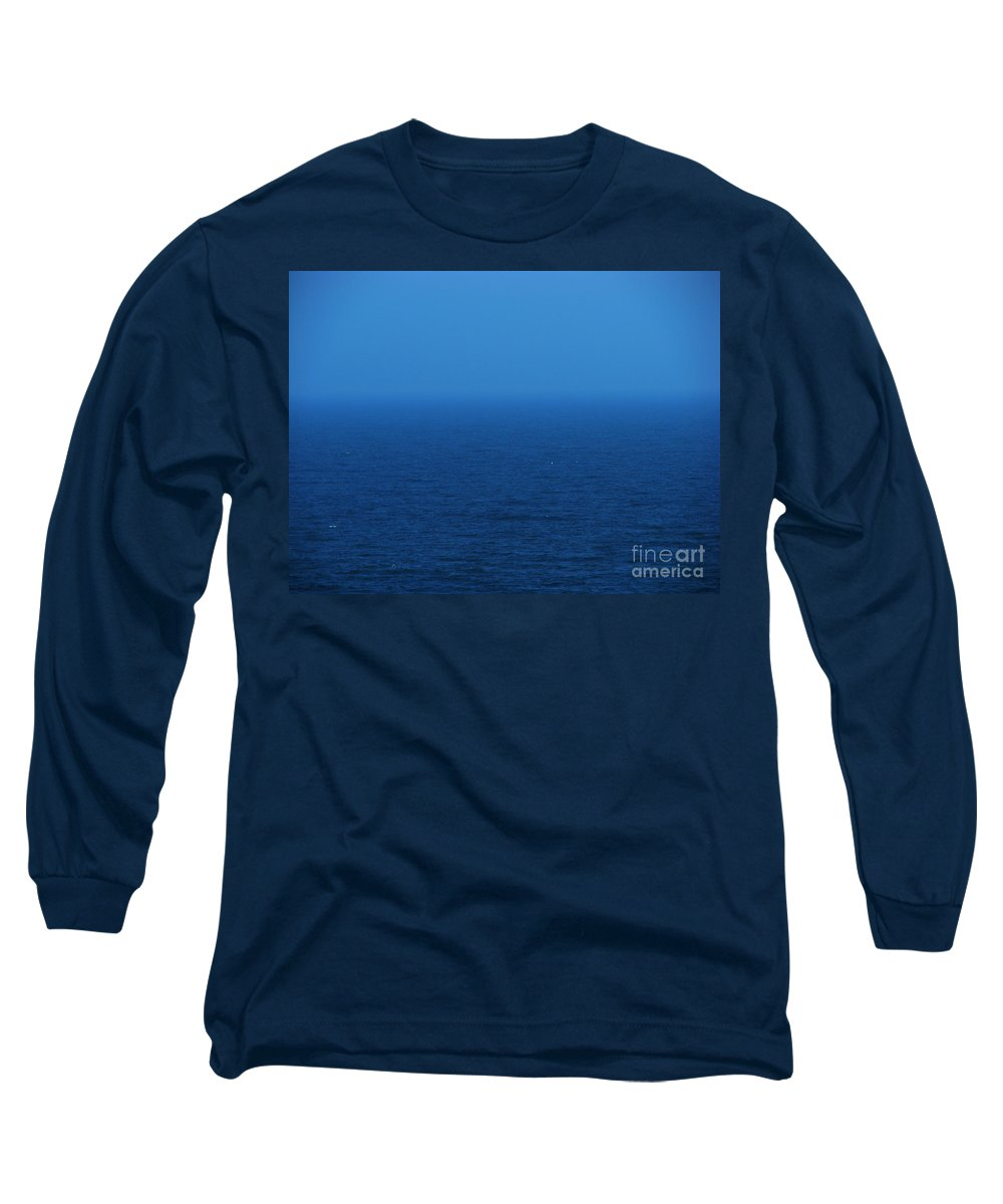 Blue Long Sleeve T-Shirt featuring the photograph Stepping Into A Dream by Amanda Barcon