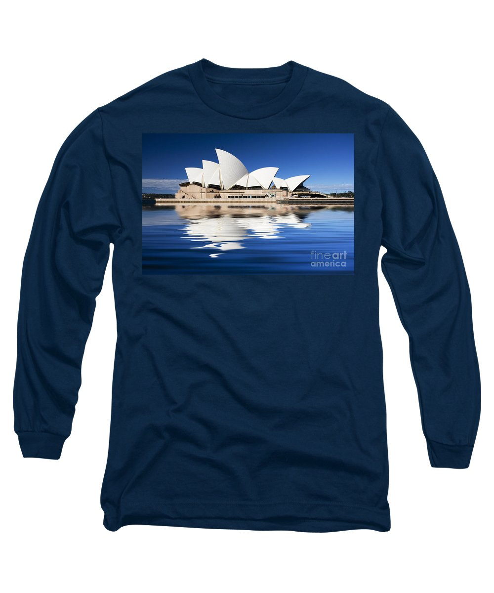 Sydney Opera House Long Sleeve T-Shirt featuring the photograph Sydney Icon by Sheila Smart Fine Art Photography
