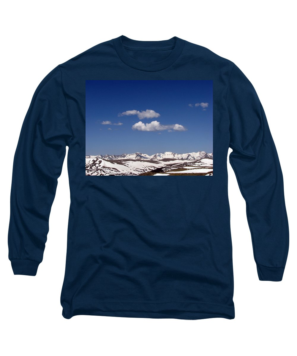 Mountains Long Sleeve T-Shirt featuring the photograph Colorado by Amanda Barcon