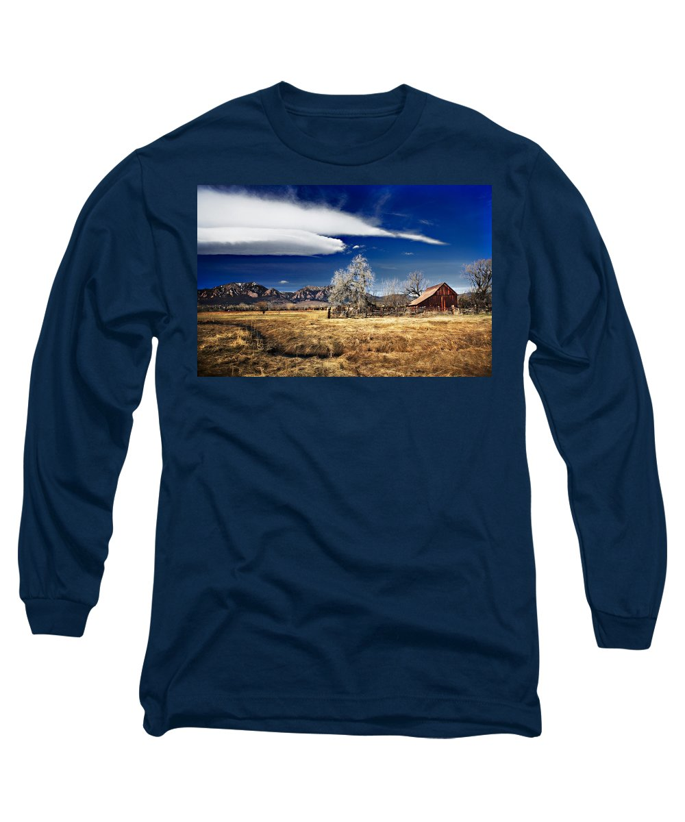 Colorado Long Sleeve T-Shirt featuring the photograph Beautiful Colorado by Marilyn Hunt