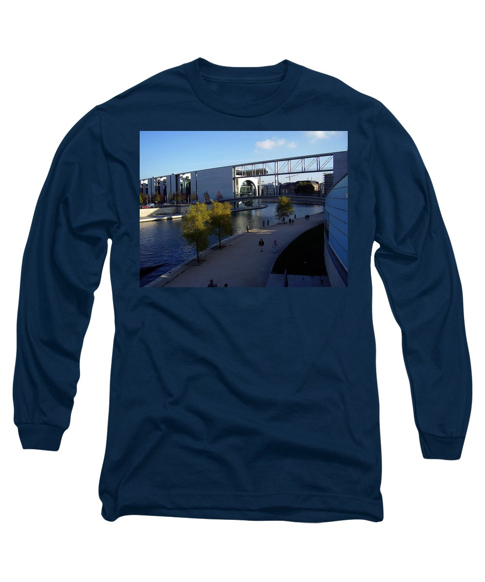 Paul-loebe Long Sleeve T-Shirt featuring the photograph Berlin II by Flavia Westerwelle