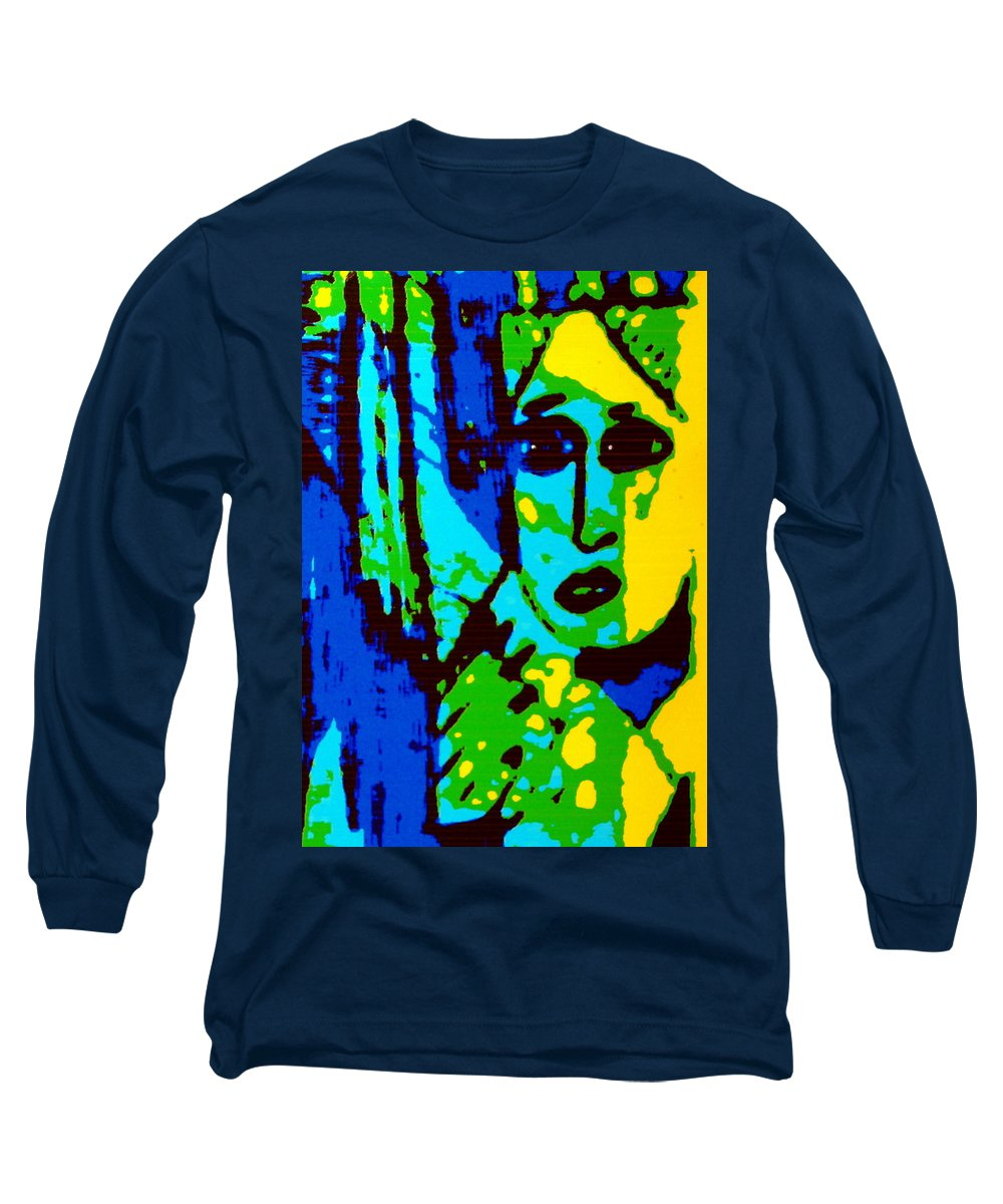 Female Long Sleeve T-Shirt featuring the painting Broken Promises by Natalie Holland