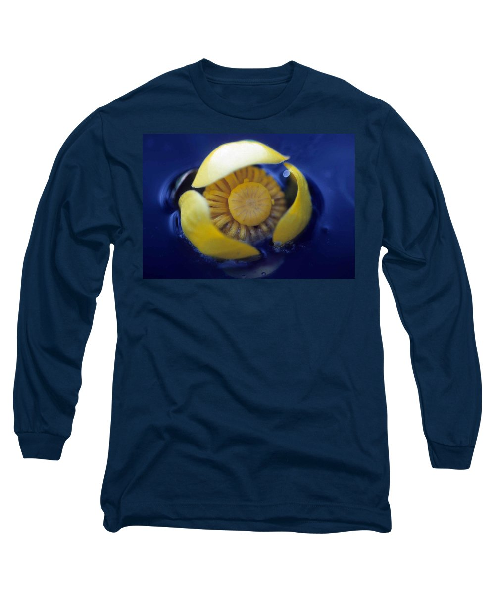 Lily Long Sleeve T-Shirt featuring the photograph Bull Lily by Laurie Paci