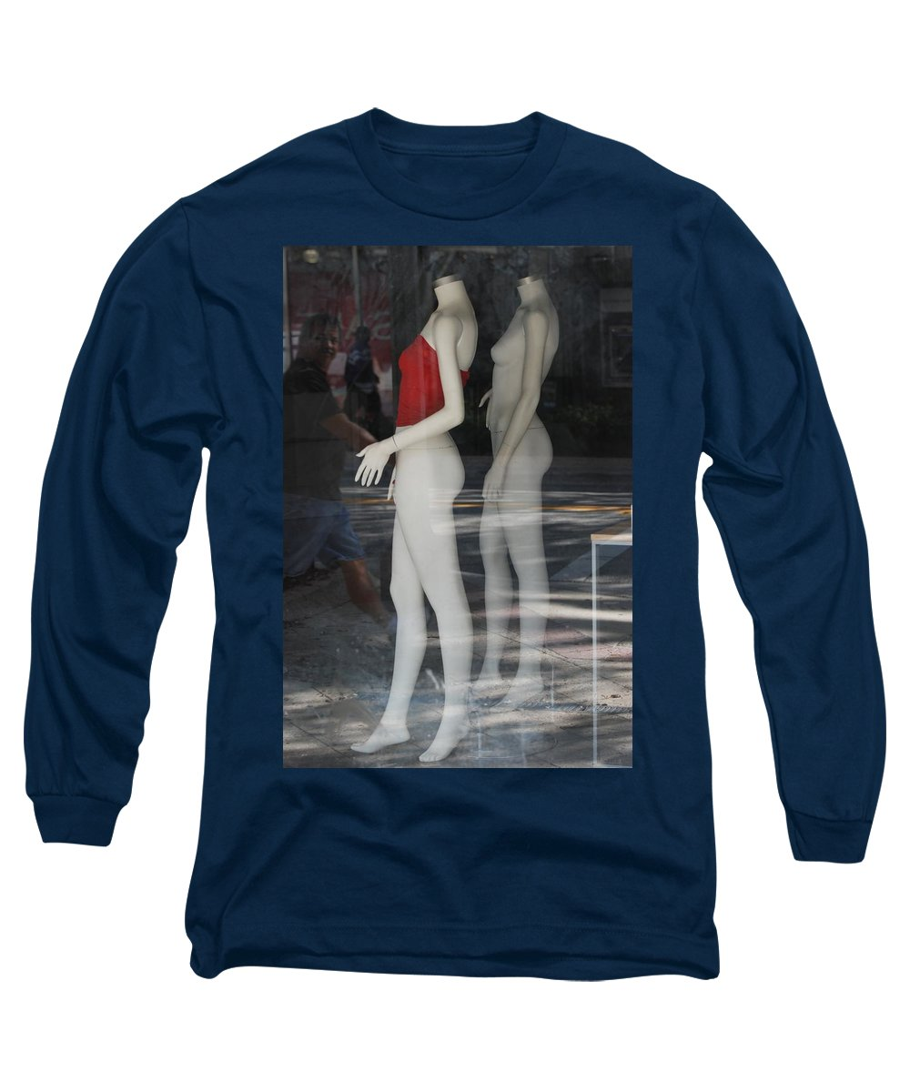 Pop Art Long Sleeve T-Shirt featuring the photograph Caught Ya Looking by Rob Hans