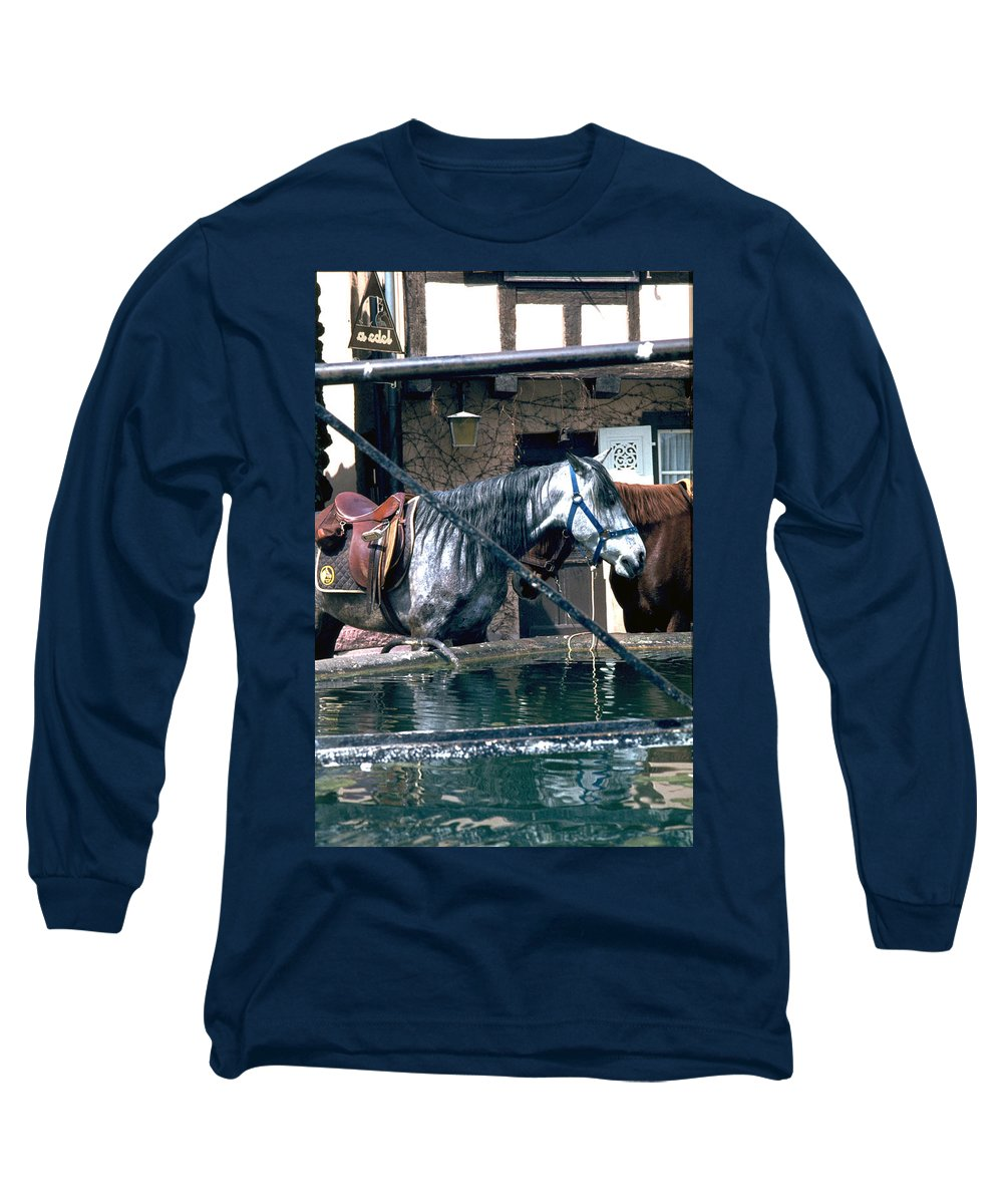 Colmar Long Sleeve T-Shirt featuring the photograph Colmar II by Flavia Westerwelle