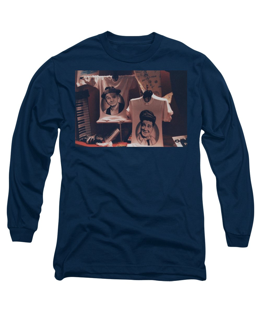 The Honeymooners Long Sleeve T-Shirt featuring the photograph Ed And Ralphie Boy by Rob Hans