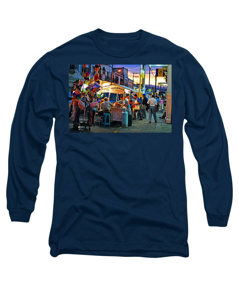 Skip Hunt Long Sleeve T-Shirt featuring the photograph El Flamazo by Skip Hunt