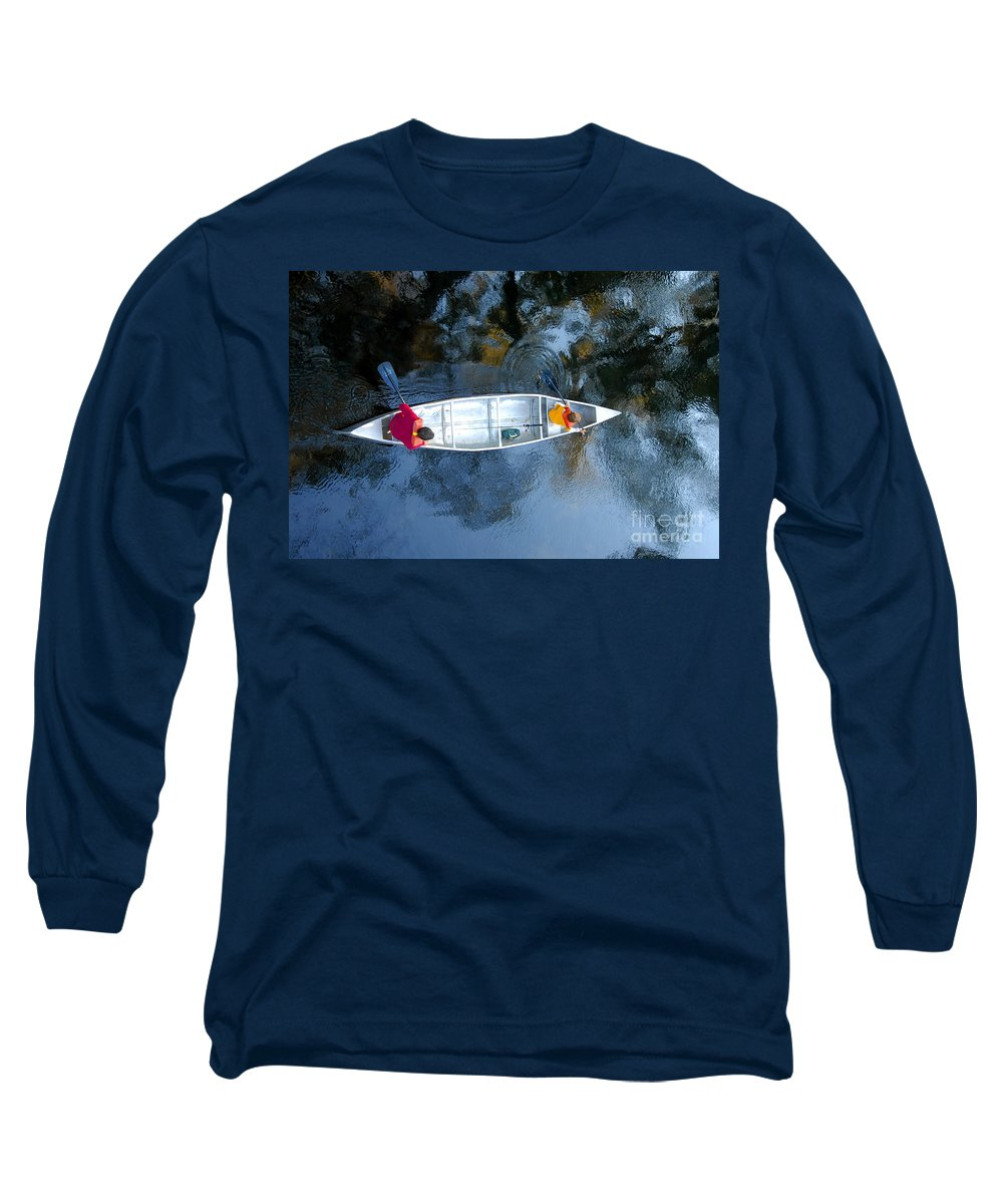 Father Long Sleeve T-Shirt featuring the photograph Fishing Trip by David Lee Thompson
